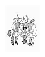 Il mago di Oz da colorare 46