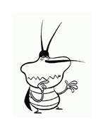 Maledetti scarafaggi da colorare 53