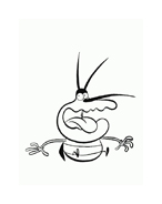 Maledetti scarafaggi da colorare 74