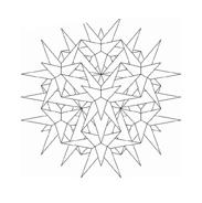 Mandala da colorare 6