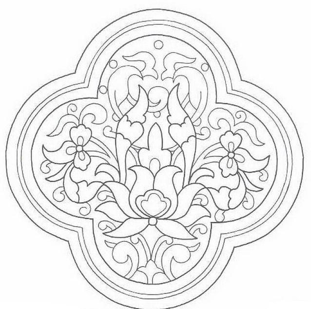 Mandala da colorare 9