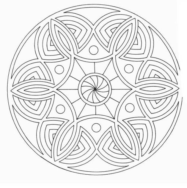 Mandala da colorare 15