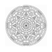 Mandala da colorare 23