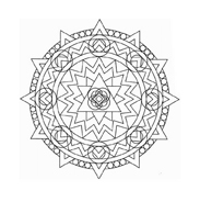 Mandala da colorare 29