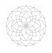 Mandala da colorare 30