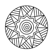 Mandala da colorare 39