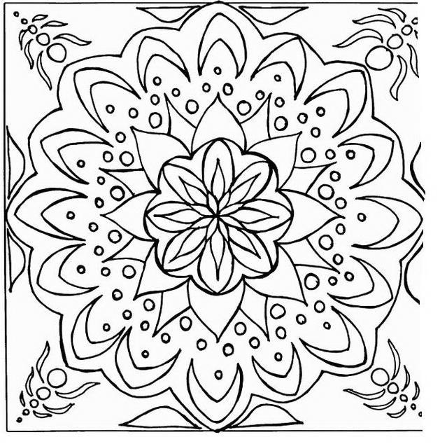 Mandala da colorare 60