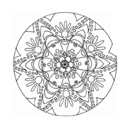 Mandala da colorare 61