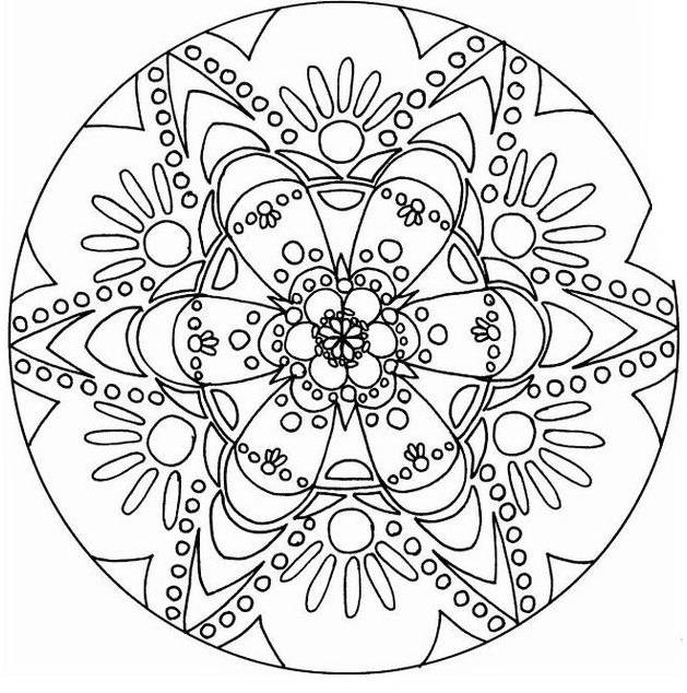 Mandala da colorare 61