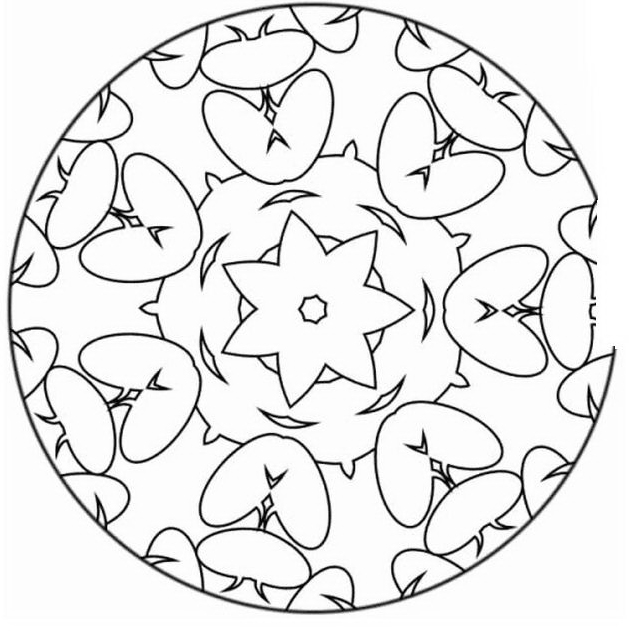 Mandala da colorare 63