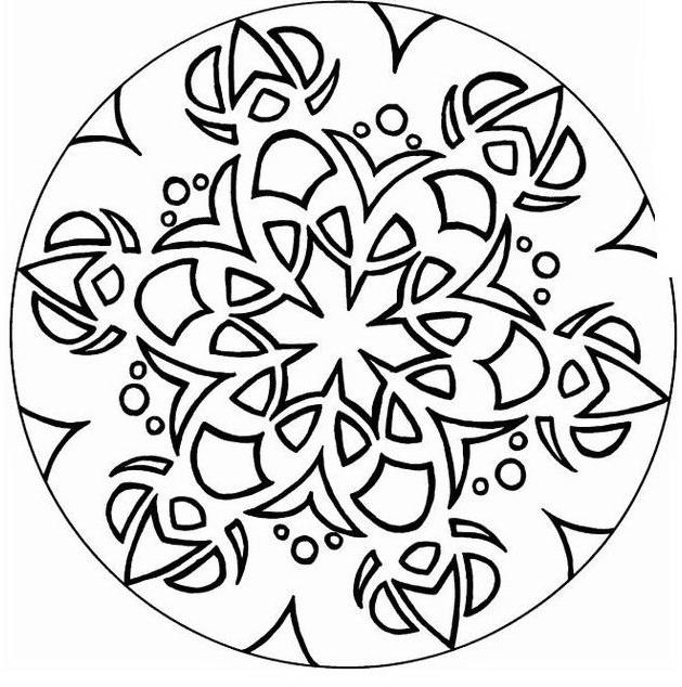 Mandala da colorare 64