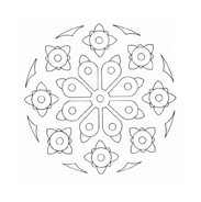 Mandala da colorare 67