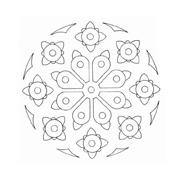 Mandala da colorare 67
