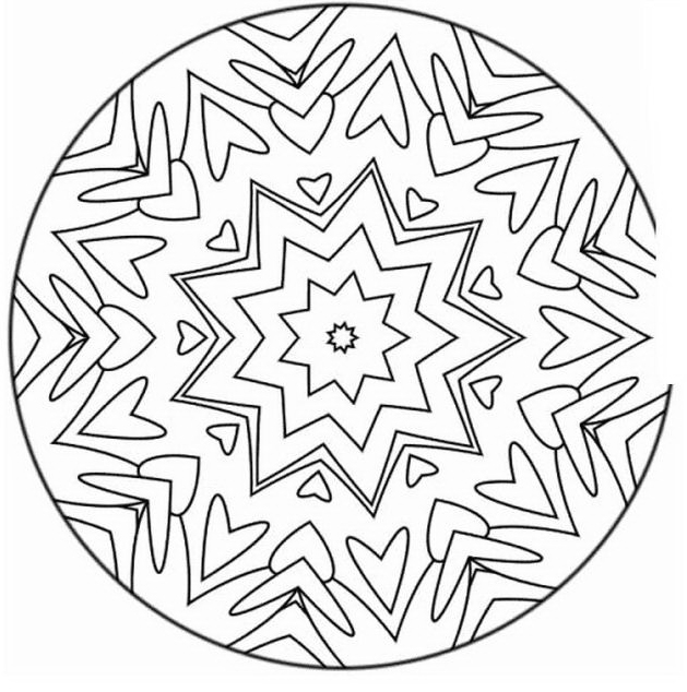 Mandala da colorare 75