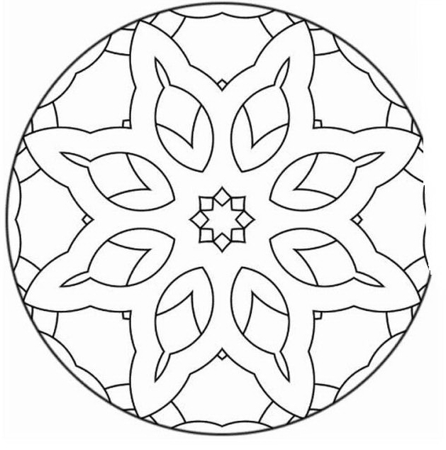Mandala da colorare 79