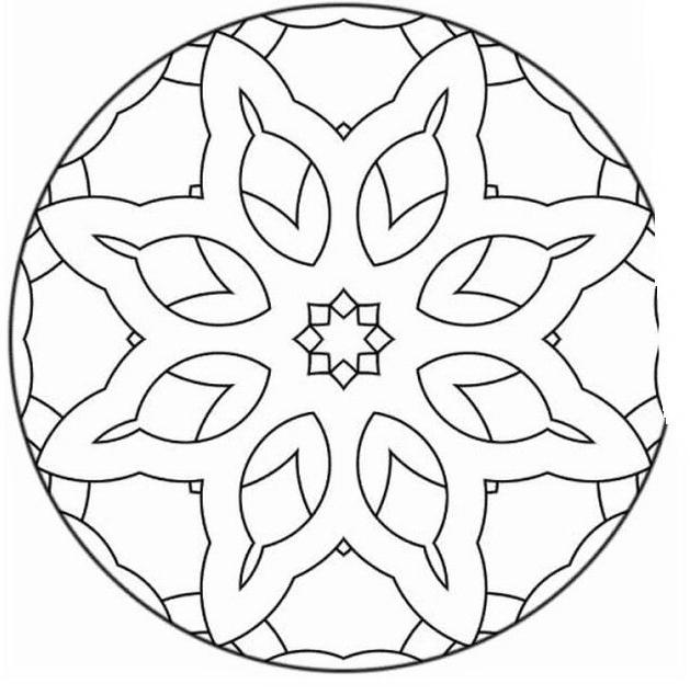 Mandala da colorare 79