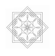 Mandala da colorare 84