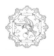 Mandala da colorare 116
