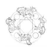 Mandala da colorare 127