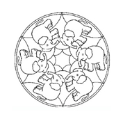 Mandala da colorare 137