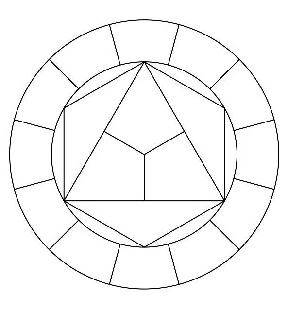 Mandala da colorare 142