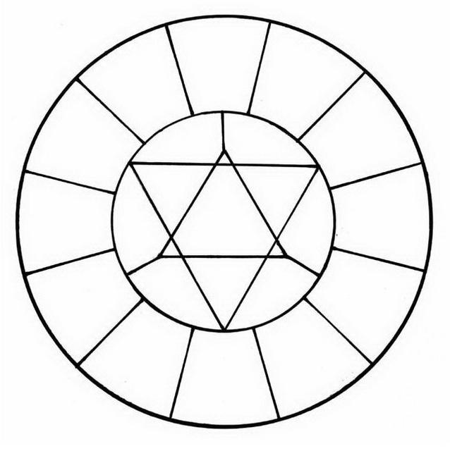 Mandala da colorare 143