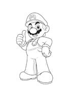 Mario bros da colorare 8