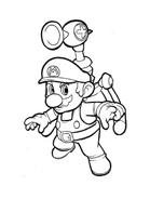 Mario bros da colorare 13