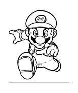 Mario bros da colorare 15