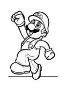 Mario bros da colorare 16