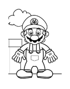 Mario bros da colorare 18