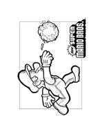 Mario bros da colorare 19