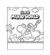 Mario bros da colorare 20
