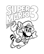 Mario bros da colorare 24