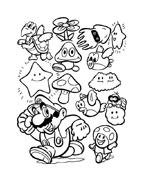 Mario bros da colorare 32