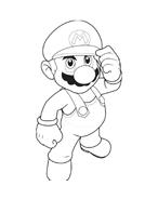 Mario bros da colorare 35