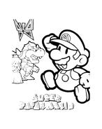 Mario bros da colorare 36