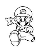 Mario bros da colorare 39