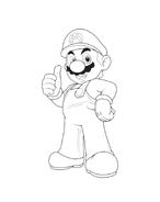 Mario bros da colorare 40