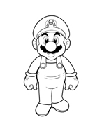 Mario bros da colorare 42