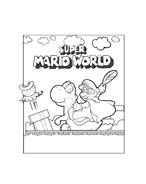 Mario bros da colorare 51