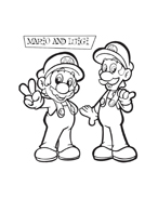 Mario bros da colorare 52