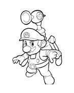 Mario bros da colorare 54