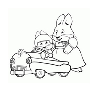 Max e Ruby da colorare 4