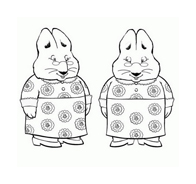 Max e Ruby da colorare 5