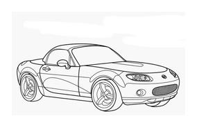 Automobile da colorare 324