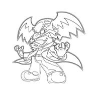 Megaman da colorare 15