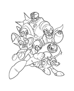 Megaman da colorare 21