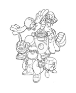 Megaman da colorare 22
