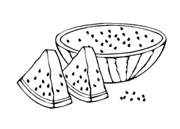 Frutto da colorare 108